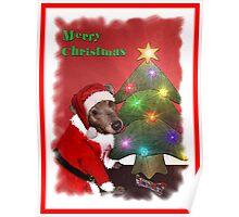 Santa Gromit Poster
