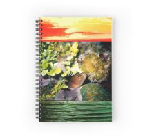 Moray Eel-Cozumel, Mexico Spiral Notebook