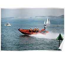 Beaumaris life boat Poster