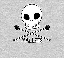 Skull & Cross-Mallets Unisex T-Shirt