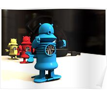 Kitchen Toy Robot Helpers Poster