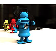 Kitchen Toy Robot Helpers Photographic Print