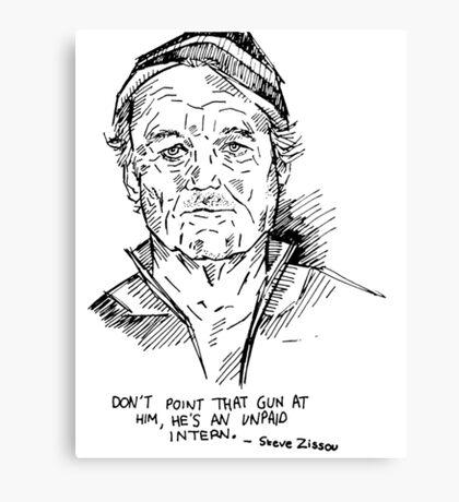 Zissou. Canvas Print