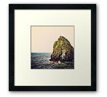 Stax Framed Print