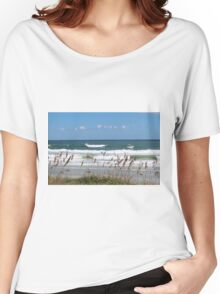 Breaking Waves Women's Relaxed Fit T-Shirt