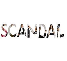 Scandal Image Title Photographic Print