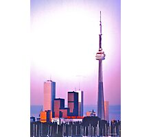 CN Tower and Downtown, Toronto Photographic Print