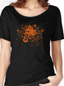 Floral Burst Women's Relaxed Fit T-Shirt