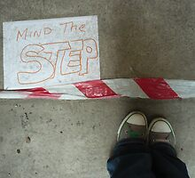Mind The Step by Christine Leman