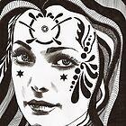 Tattoo Woman by Susan van Zyl