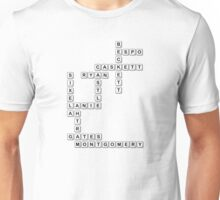 castle scrabble  Unisex T-Shirt