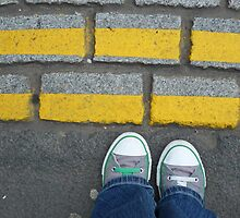 Yellow Lines by Christine Leman