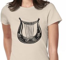 Lyre of Orpheus Womens Fitted T-Shirt