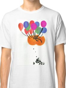 Floating bum instilation (suspended by helium balloons) circa 2002. Classic T-Shirt