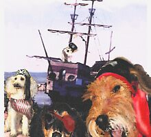 pirate dogs go to sea by jashumbert