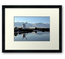 Blennerville Windmill, Kerry, Ireland Framed Print