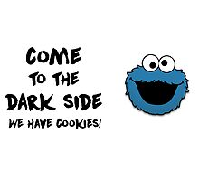 Come To The Dark Side & Cookiemonster - mugs by hagithequeen