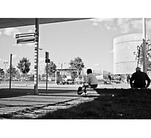 The waiting zone Photographic Print