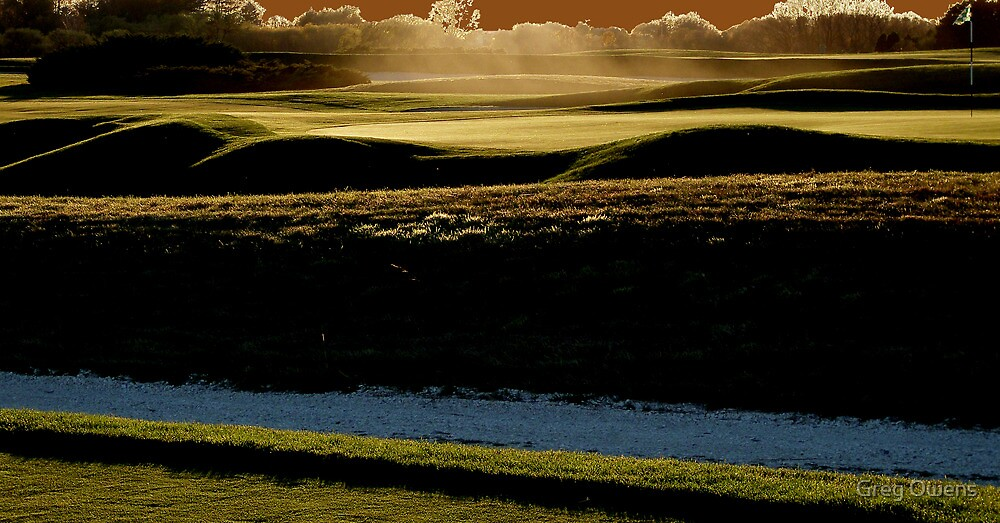 The dust of lust for golf and gold by Greg Owens