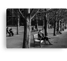 BREAK TIME Canvas Print