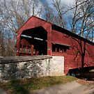 Shearer Covered Bridge by Yvonne Roberts