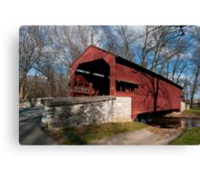 Shearer Covered Bridge Canvas Print