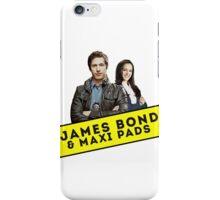 James Bond & Maxi Pads iPhone Case/Skin