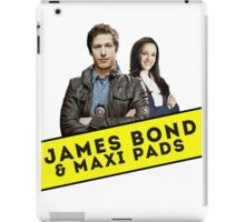James Bond & Maxi Pads iPad Case/Skin