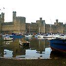 Caernarfon Castle by shakey