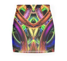 Rings of Illumination Mini Skirt