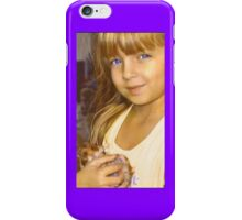 """Tay with Her Precious Hamster Angel""  iPhone Case/Skin"