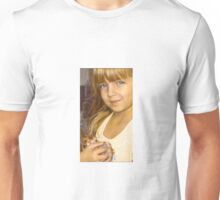"""Tay with Her Precious Hamster Angel""  Unisex T-Shirt"