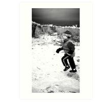 snowdy Art Print
