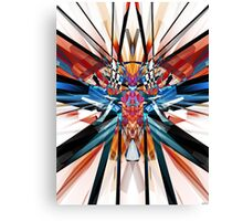 Mirror Image Abstract Canvas Print