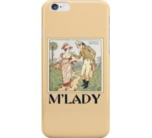 M'lady iPhone Case/Skin