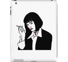 Mia Wallace Pulp Fiction iPad Case/Skin