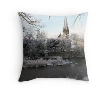 St. Roberts Church, Morpeth Throw Pillow