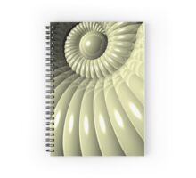 Shell of Repetition Spiral Notebook