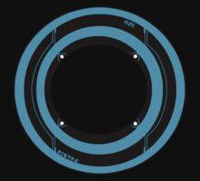 Tron Identity Disk by Rebecca -