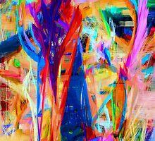 Abstract 9090 by Rafael Salazar