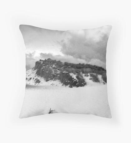 Snow Dune Throw Pillow