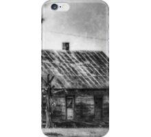 Slave Cabin - Laurel Valley Plantation iPhone Case/Skin