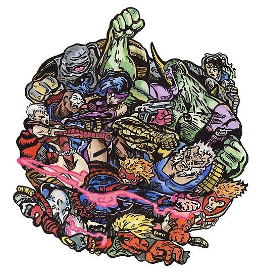 90's Comics Glump by Karl Frey