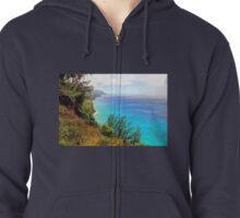 Na Pali Coast, Kaua'i, USA Zipped Hoodie