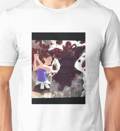 Jill vs. Nemesis  Unisex T-Shirt