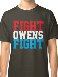 Fight Owens Fight (Blue/White/Red) Classic T-Shirt