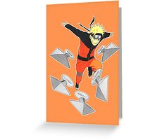 KUNAI ATTACK ! Greeting Card