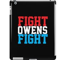 Fight Owens Fight (Blue/White/Red) iPad Case/Skin