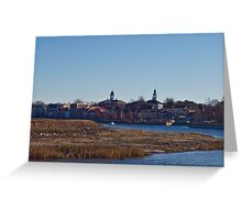 Exeter Skyline Greeting Card