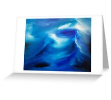 The wake - an original oil painting Greeting Card